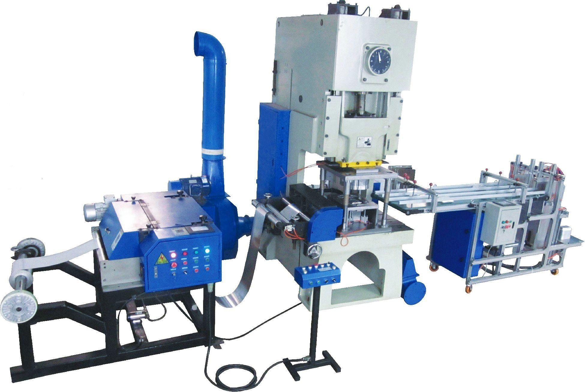 Aluminium Foil Box Making Machine